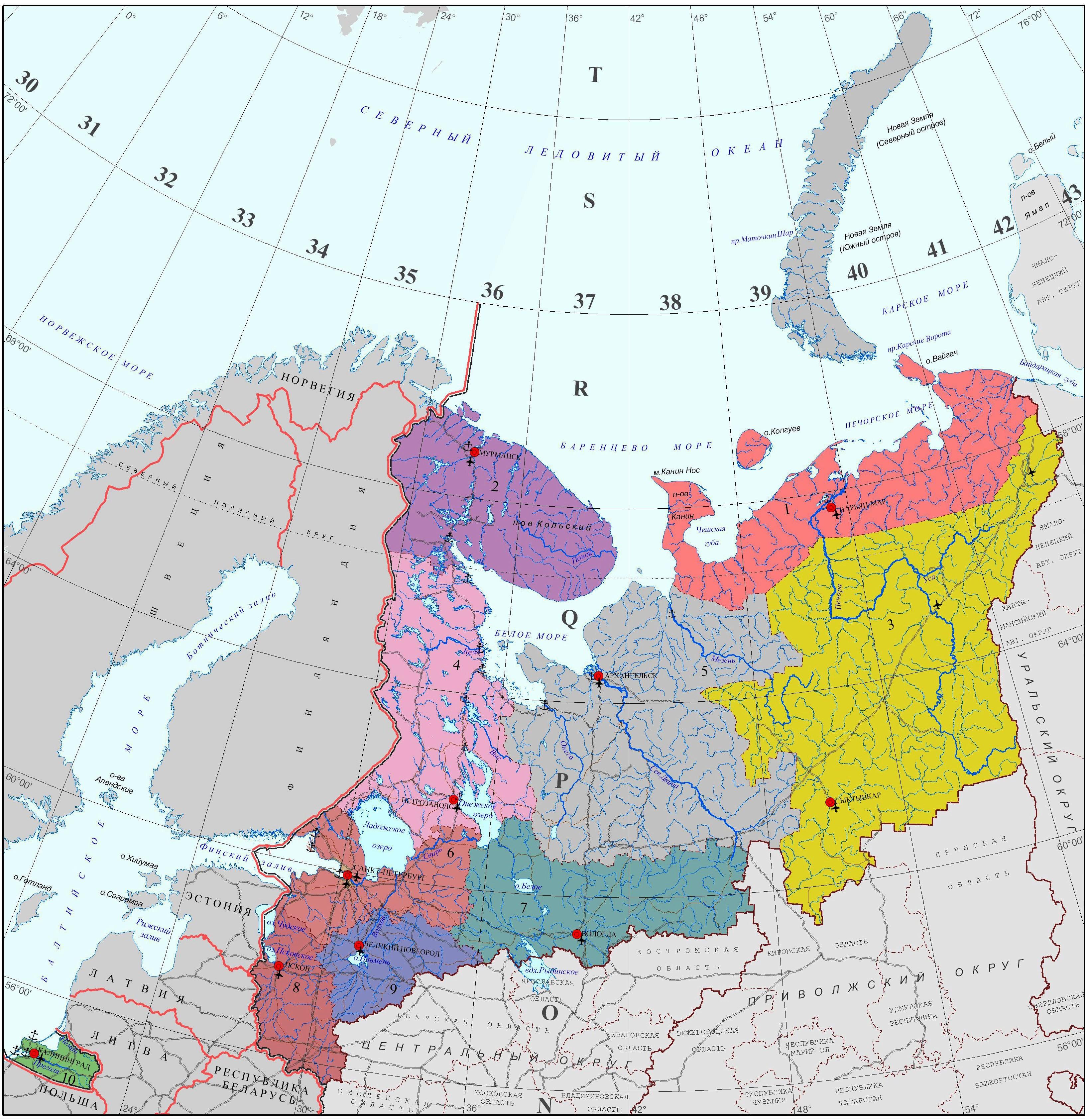 какое место занимает европейский север