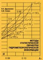 Методы статистической обработки гидрометеорологической информации. Учебное пособие