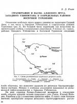 Стратиграфия и фауна альбского яруса западного Узбекистана и сопредельных районов восточной Туркмении