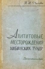 Апатитовые месторождения Хибинских тундр