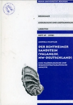 Bochumer geologische und geotchnische. Heft 49 (1998). Der bentheimer sandstein (Valangin, NW-Deutschland). Eine palokologische und sequenzstratigraphische analyse