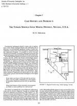Case history and problem 1: the Tonkin Springs gold mining district, Nevada, U.S.A.