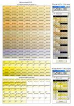 Цветовая модель RGB (для создания государственных геологических карт)