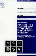 Der floren - und faunenschnitt an der grenze Barreme/Apt in NW Europa