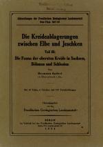 Die Kreideablagerungen zwischen Elbe und Jeschken