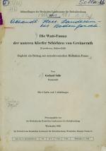 Die Watt-Fauna der unteren Klerfer Schichten von Greimerath