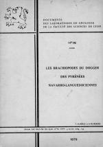 Documents des laboratoires de geologie de la faculte des sciences de Lyon. Les brachiopodes du dogger des pyrenees Navarro-Languedociennes