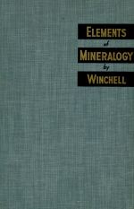Elements of mineralogy. Emphasizing the variations in minerals
