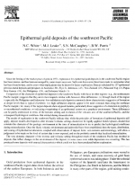 Epithermal gold deposits of the southwest Pacific