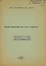 Fossili cenomaniani del Gebel Tripolitano