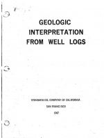 Geologic Interpretation of Well Logs