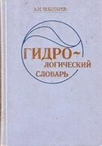 Гидрогеологический словарь