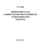 Химический состав и минералогические особенности техногенных илов реки Нуры