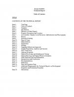 Канадский стандарт NI 43-101 / National Instrument (NI) 43-101