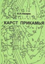 Карст Прикамья. Физико-географические (геоморфологические) аспекты
