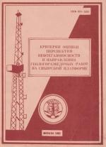 Критерии оценки перспектив нефтегазоносности и направления геологоразведочных работ на Сибирской платформе