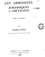Les ammonites Jurassiques et Cretacees / Юрские и меловые аммониты