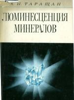 Люминесценция минералов