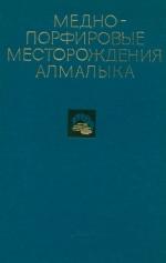 Медно-порфировые месторождения Алмалыка