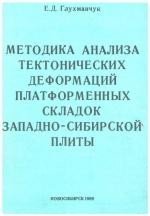Методика анализа тектонических деформаций платформенных складок Западно-Сибирской плиты