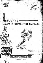 Методика сбора и обработки шлихов