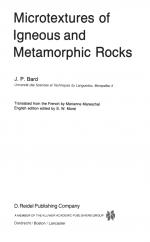 Microtextures of igneous and metamorphic rocks \ Микроструктуры магматических и метаморфических пород