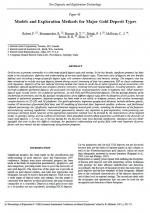 Models and Exploration Methods for Major Gold Deposit Types