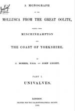 Mollusca from the great oolite, chiefly from Minchinhampton and the coast of Yorkshire. Part 1. Univalves / Моллюски из большого оолита, главным образом из Минчинхэмптона и побережья Йоркшира. Часть 1. Одностворчатые