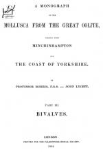 Mollusca from the great oolite, chiefly from Minchinhampton and the coast of Yorkshire. Part 3. Bivalves / Моллюски из большого оолита, главным образом из Минчинхэмптона и побережья Йоркшира. Часть 3. Двустворчатые