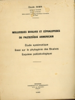 Mollusques bivalvaes et cephalopodes du paleozoique armorican