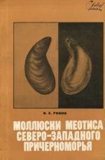 Моллюски меотиса Северо-Западного Причерноморья