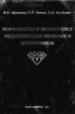 Морфология и морфогенез индикаторных минералов кимберлитов