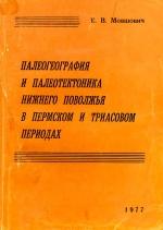 Палеогеография и палеотектоника Нижнего Поволжья в пермском и триасовом периодах