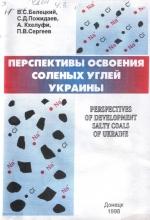 Перспективы освоения соленых углей Украины