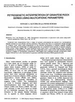 Petrogenetic interpretation of granitoid rock series using multicationic parameters / Петрогенетическая интерпретация толщи гранитоидных пород по мультикатионным параметрам