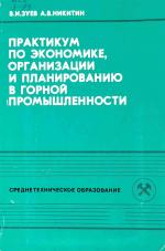 Практикум по экономике организации и планированию в горной промышленности