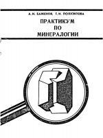 Практикум по минералогии. Учебное пособие.