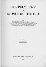 The principles of economic geology / Принципы экономической геологии