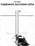 Разработка месторождений самородной серы методом подземной выплавки