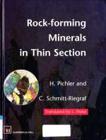 Rock-forming minerals in thin section / Породообразующие минералы в шлифах