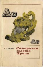 Самородки золота Урала