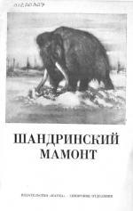 Шандринский мамонт