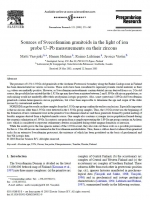 Sources of Svecofennian granitoids in the light of ion probe U–Pb measurements on their zircons