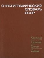 Стратиграфический словарь СССР. Кембрий, ордовик, силур, девон