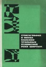Стратиграфия и фауна каменноугольных отложений реки Шартым (Южный Урал)