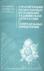 Стратиграфия палеогеновых отложений Таджикской депрессии и сопредельных территорий