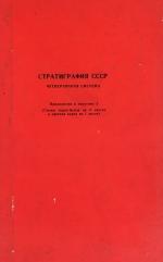 Стратиграфия СССР. Четвертичная система. Приложения к полутому 2