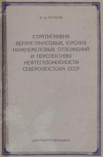Стратиграфия верхнетриасовых, юрских и нижнемеловых отложений и перспективы нефтегазоносности Северо-Востока СССР