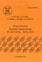 Structural transformations in natural zeolites