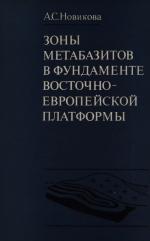 Труды геологического института. Выпуск 265. Зоны метабазитов в фундаменте Восточно-Европейской платформы